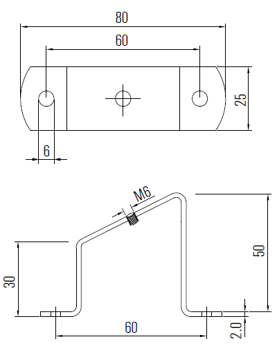 Brackets/ Mounting Dimensions