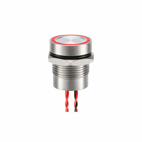 16mm Piezo Switch Ring Illum.